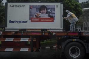 10 Juta Vaksin Sinovac Tahap ke-17 telah tiba di Indonesia