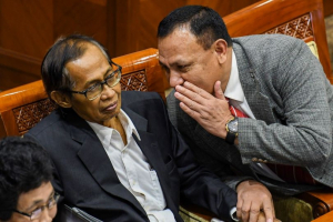 ICW: Kepercayaan Publik pada KPK Menurun
