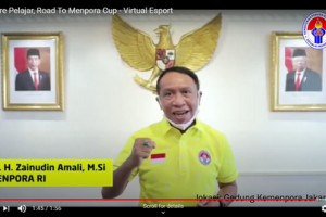 Free Fire Pelajar Road to Menpora Virtual Esport