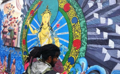 Students Turning Kathmandu Into an Open Gallery