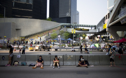 Hong Kong Students and Pro-democracy Activists Refuse to go Home