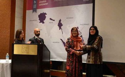 Afghan women win 2015 UN peace awards