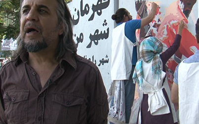 Graffiti Artists Restore Beauty to Kabul's Destroyed Walls