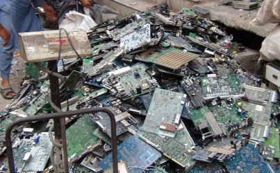 Dealing with India's mountains of e-waste