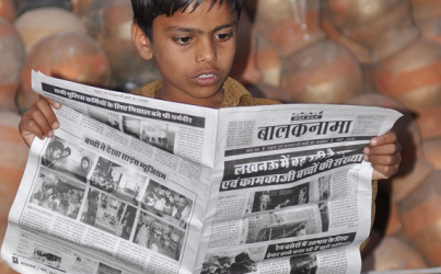 Balaknama, newspaper by India's street children
