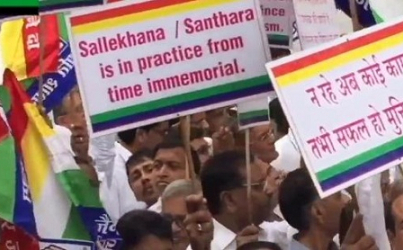Salvation or Suicide: India Jain Community Protests a Ban on Fasting to Death
