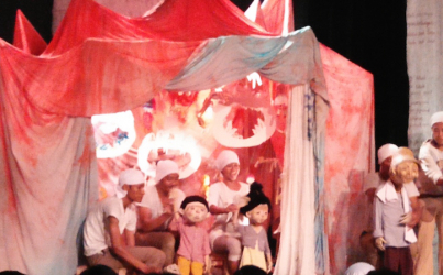 Papermoon: The personal and political in puppets and play
