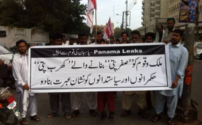 """Behind every great fortune there is a crime:"" Panama Papers in Pakistan"