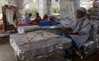 Innovative recycling in Pakistan, creating shelters, furniture for those in need