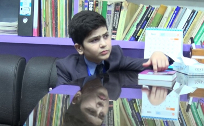 Pakistan's child prodigy promotes education