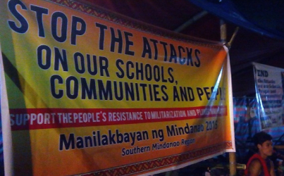 Activists call for end to killing of Philippines' tribal people