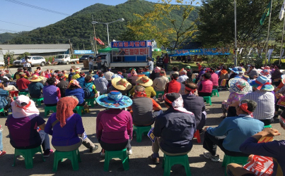 South Korean village protests new US missile base in their community