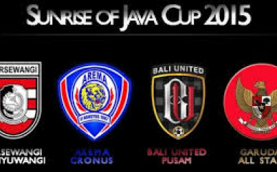 Turnamen Sunrise of Java Cup 2015, Bali United Tekuk Indonesia All Star