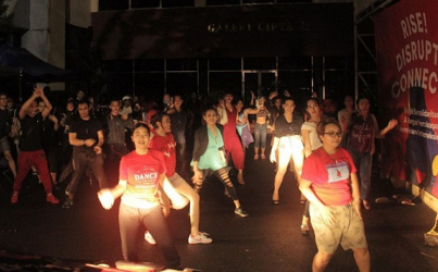 [SAGA] Berjoget Bersama One Billion Rising