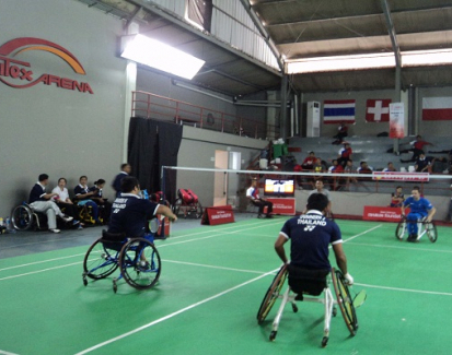 Indonesia Optimis Raih Emas di Para-Badminton Internasional 2015