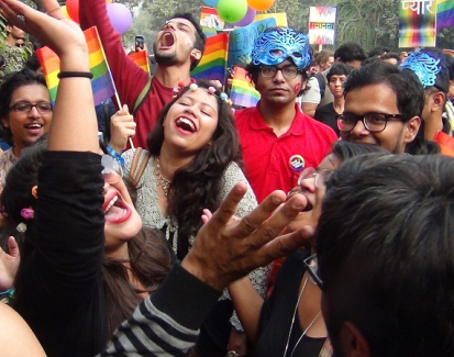 India's LGBT community stages colorful pride march for equal rights