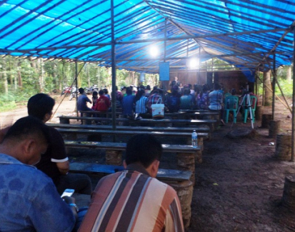A somber Easter for Christians in Aceh, Indonesia, forced to worship in tents