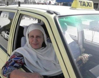 Pakistan's first female taxi driver to get back behind the wheel