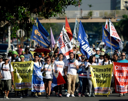 Major carbon emitting firms face legal action in the Philippines