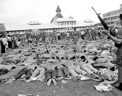 Forty years on, university massacre a blind spot in Thai history