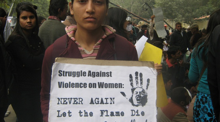 Slogan 'Never Again' Echoing Throughout India