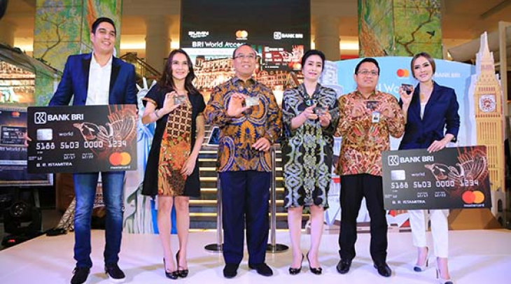 Bank BRI Luncurkan Kartu Kredit BRI World Access