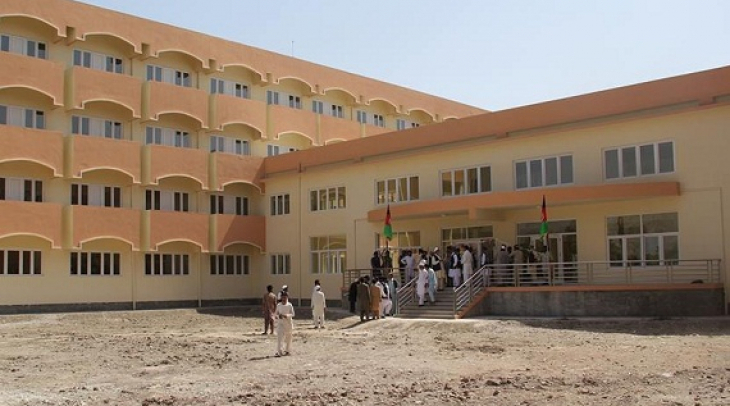 Girls hostel in Nangarhar University. (Photo: Mudassar Shah)
