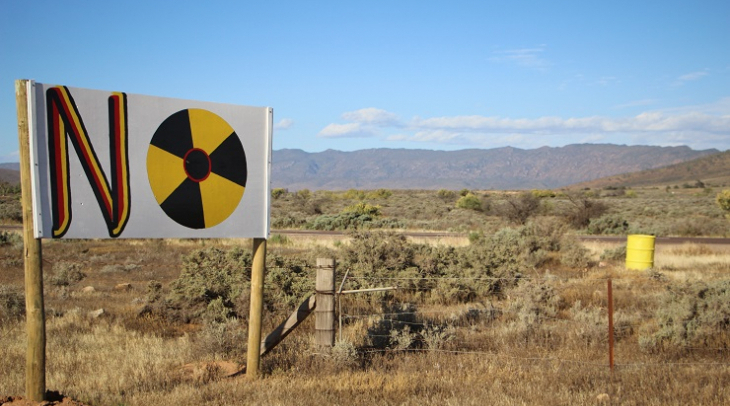 The Flinders Ranges, South Australia, near the site of a proposed nuclear waste dump (Photo: Jarni B