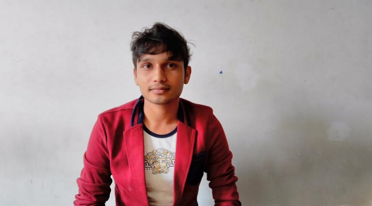 Mahamood Rakibul Hasan was forced to flee Bangladesh after being persecuted because of his sexuality