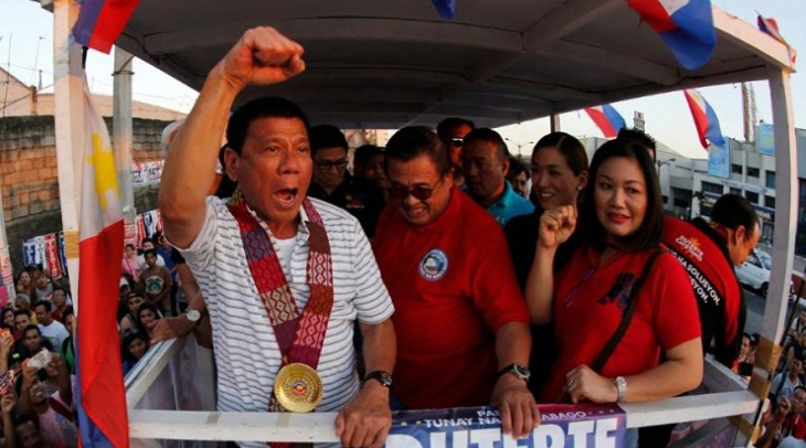Presiden Filipina Rodrigo Duterte (Foto: telegraph.co.uk)