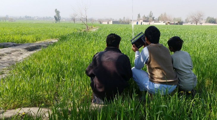 Radio is one of the best sources of entertainment for People in Nangarhar but recently most people a