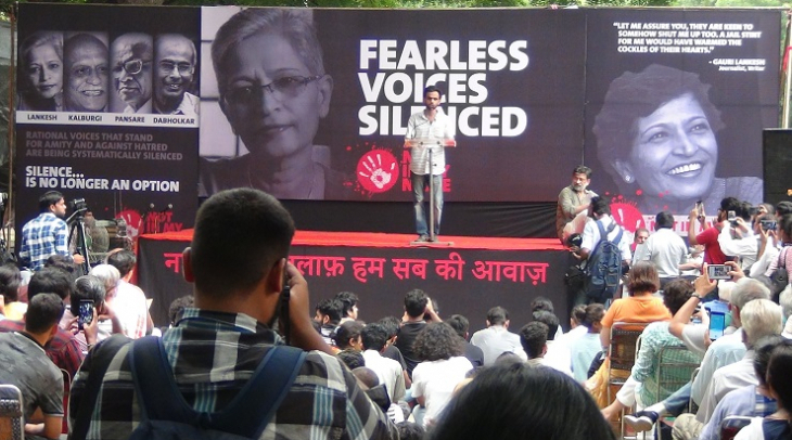 Journalist Gauri Lankesh was murdered in India, raising questions about the state of press freedom (