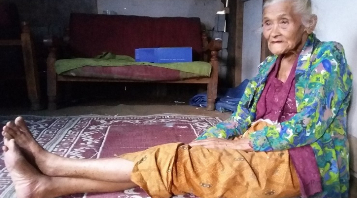 Paini was a 'comfort woman' during the Japanese occupation of Indonesia. (Photo Noni Arnie)