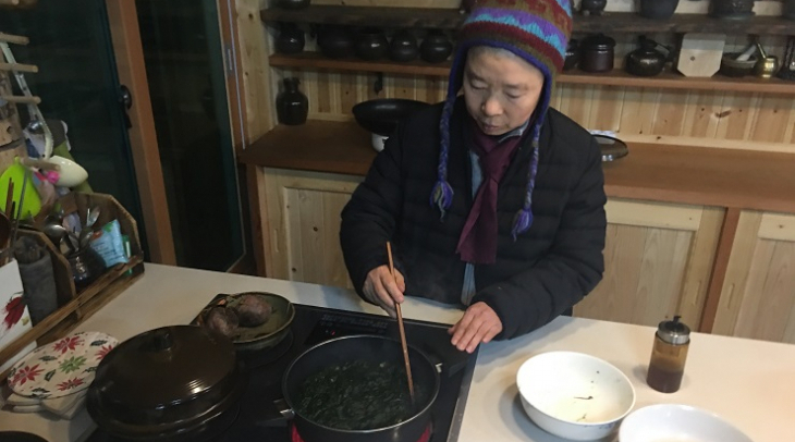 Jeong Kwan is a Buddhist nun who has also become a celebrity chef (Photo: Jason Strother)