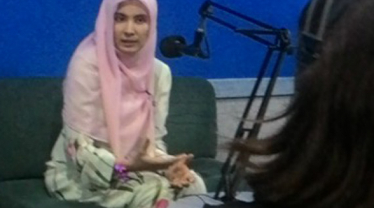 Nurul Izzah (Photo: KBR)