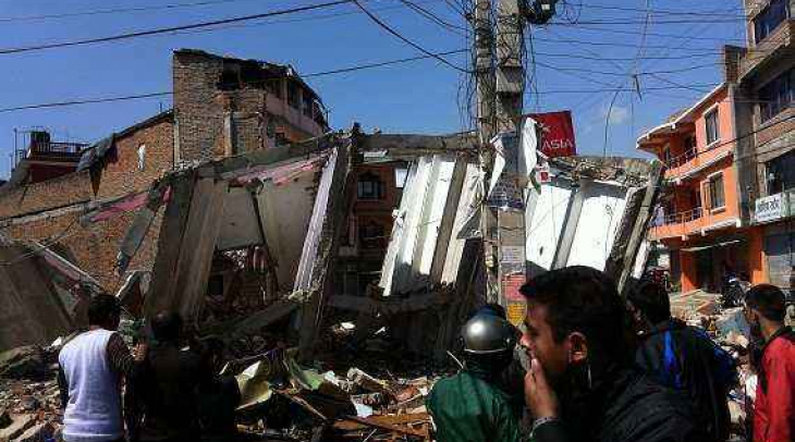 Nepal Earthquake hit Nepal Saturday (25/4) and about 60 thousands buildings have been completely des