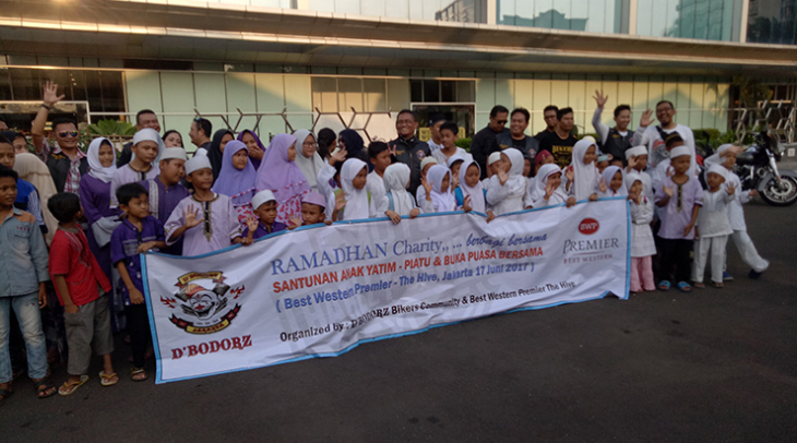 [Advertorial] Ramadhan Charity  di Best Western Premier The Hive
