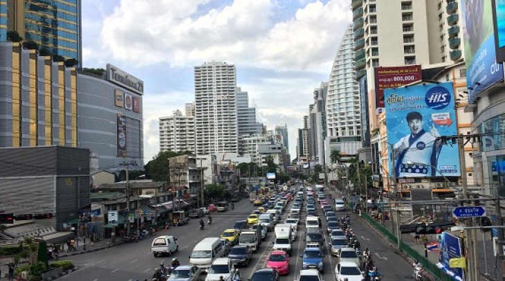 Bangkok once the speedy growing capital city of Thailand, struggles to live as normal after  its 18t