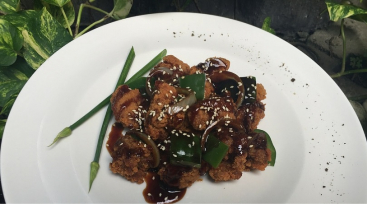 Chicken Karage Saus Teriyaki Ala Chef Aiko