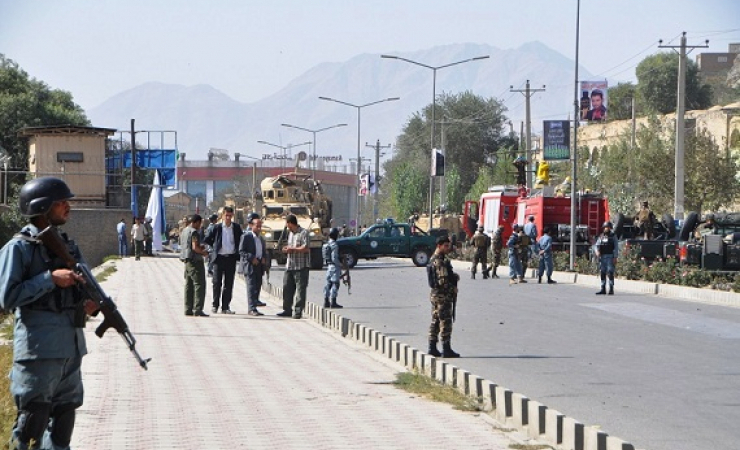 Scores of checkpoints like this one are part of a so-called Ring of Steel securing Kabul from any te