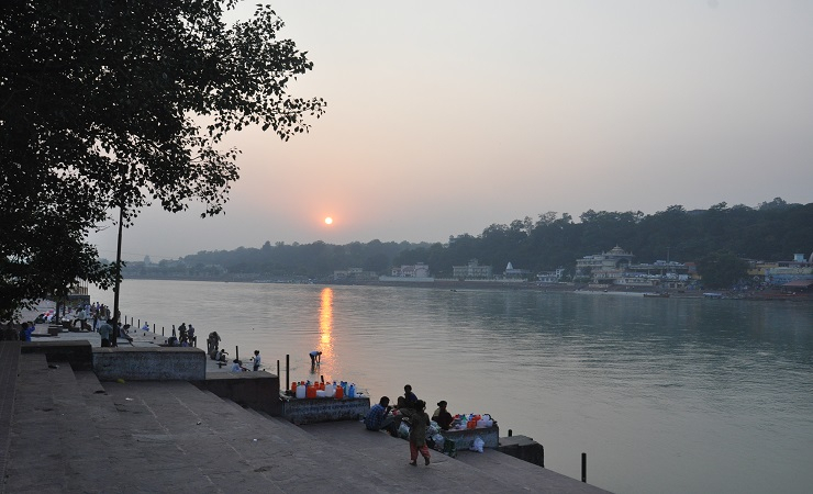 The sacred Ganges River is under threat due to climate change (Photo: Jasvinder Sehgal)