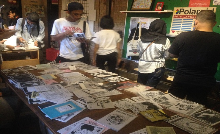 Bandung Zine Fest attracted zine makers from all over Indonesia. The third event of its kind, Bandun