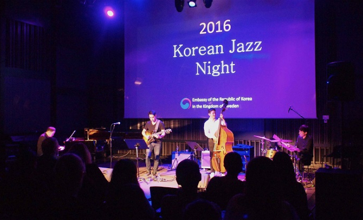 Korean Jazz Night di Stockholm. (Foto: Ric Wasserman)
