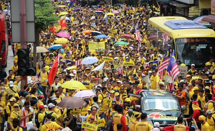 Bersih 4 movement in Malaysia (Photo: Jarni Blakkarly)
