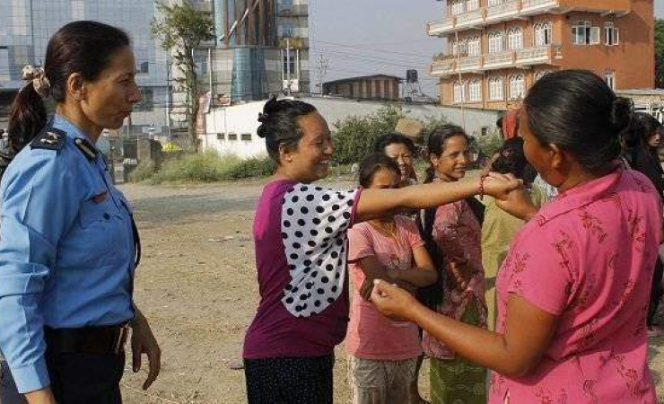 Police in Nepal have started self-defence lessons in response to several cases of rape, sexual assau