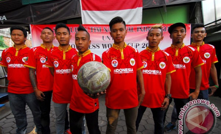 Timnas Homeless World Cup 2015. (Antara)