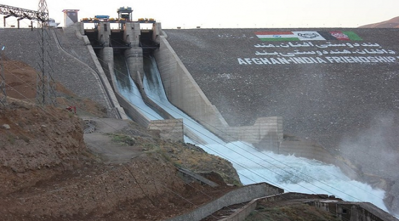 The Afghan-India Friendship Dam completed with Indian assistance of $300 million (Photo: Shadi Khan