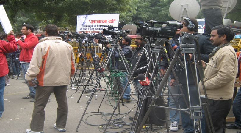 Indian media is at war where coverage of the disputed region of Kashmir is concerned. (Photo: Bismil