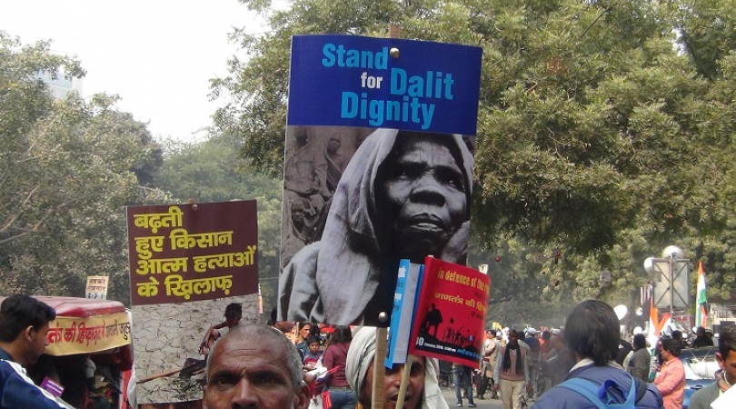 Rohit Vemula has become a symbol of protest against Dalit persecution. (Photo: Bismillah Geelani)