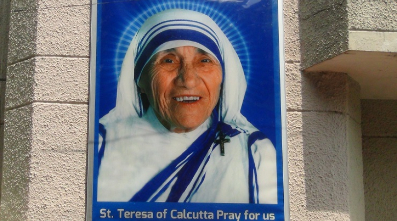 Mother Teresa is now Saint Teresa (Photo: Bismillah Geelani)